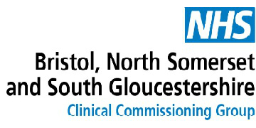 NHS Bristol, North Somerset and South Glos CCG logo