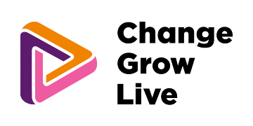 Change Grow Live logo