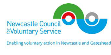 Newcastle Council for Voluntary Service logo