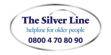 The SilverLine Helpline logo