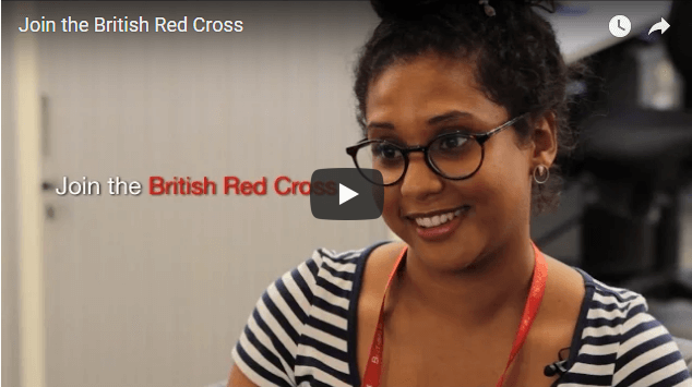british red cross video image