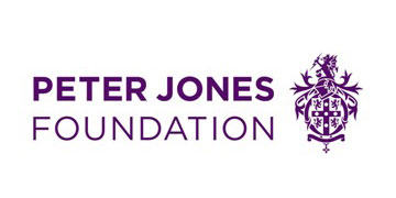 The Peter Jones Foundation logo