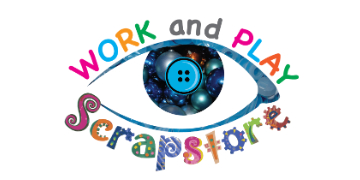 Work & Play Scrapstore logo