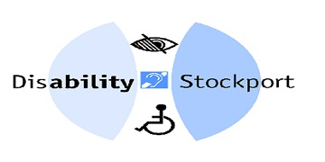 Disability Stockport logo