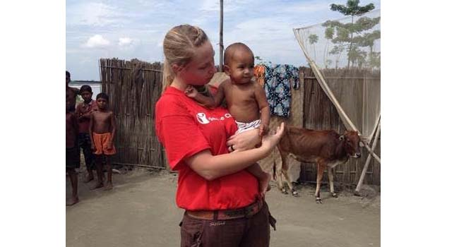 Save the Children - Adele in Bangladesh