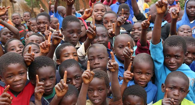 Children in Malawi