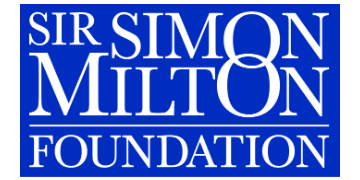 Sir Simon Milton Foundation logo