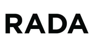 The Royal Academy of Dramatic Art (RADA) logo