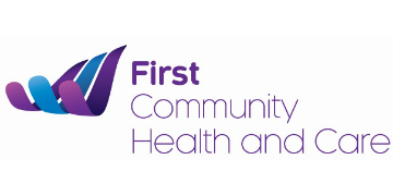 First Community Health & Care logo